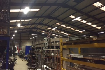 Industrial electrical services near Swindon